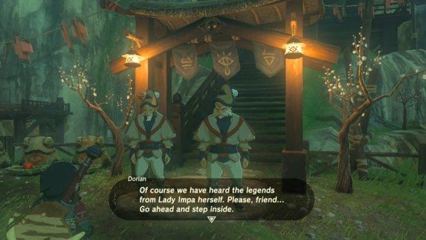 Zelda - Breath of the Wild: Impas Juwel in Kakariko bekommen mit Videoanleitung