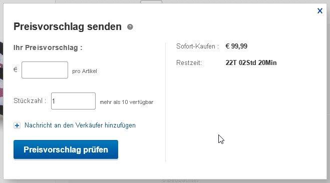 ebay-preisvorschlag-abgeben