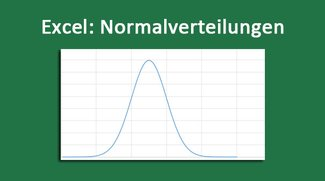Excel: Normalverteilung & Lognormalverteilung berechnen und Diagramm erstellen – so geht's
