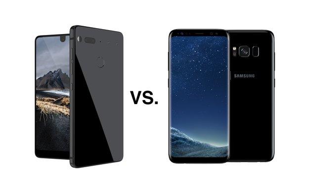 Essential PH-1 vs. Galaxy S8: Jugendliche Innovation gegen bewährte Erfahrung