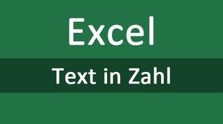 Excel: Text in Zahl umwandeln – so geht's