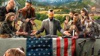 Far Cry 5: Entwickler spendiert dem Schaufel-Kult eine eigene Waffe