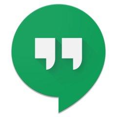 google hangouts symbol
