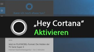 "Windows 10: ""Hey Cortana"" aktivieren – so geht's"