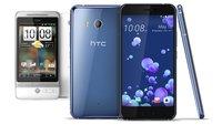 Der Weg zum U11: Die HTC-Flaggschiffe mit Android im Rückblick