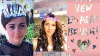 Instagram jetzt mit Gesichts-Filter, Hashtag-Sticker und Radierer