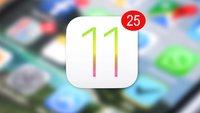 Das soll iOS 11 bieten