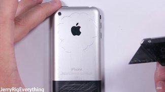 Härtetest: Auch das erste iPhone war schon recht stabil