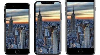 iPhone 8: Größer und dicker als das iPhone 7