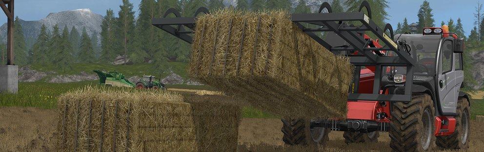 Direkt auf dem Feld Pellets erstellen - wir finden es gut!