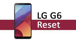 LG G6: Reset auf Werkseinstellungen