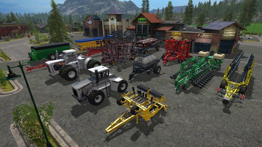 "Im DLC ""Big Bud"" dreht sich alles um große Fahrzeuge."