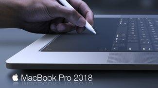 Konzeption des MacBook Pro 2018: Zweitdisplay statt Tastatur und Trackpad