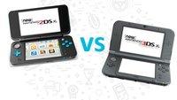 New Nintendo 2DS XL oder New Nintendo 3DS XL? Wir vergleichen die Handhelds für euch