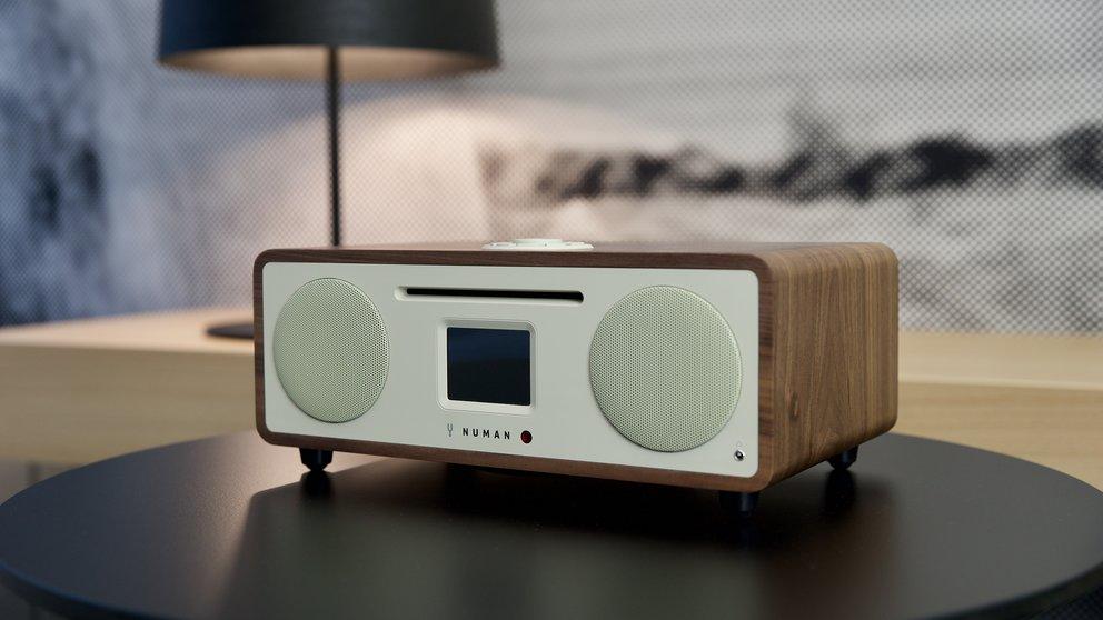 Numan Two im Test: Das stilvolle Spotify-DAB-Bluetooth-Internet-CD-Radio