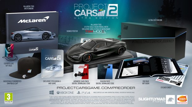 Project CARS 2: Editionen und Season Pass vorgestellt - mit Ultra Edition ab 400 Euro