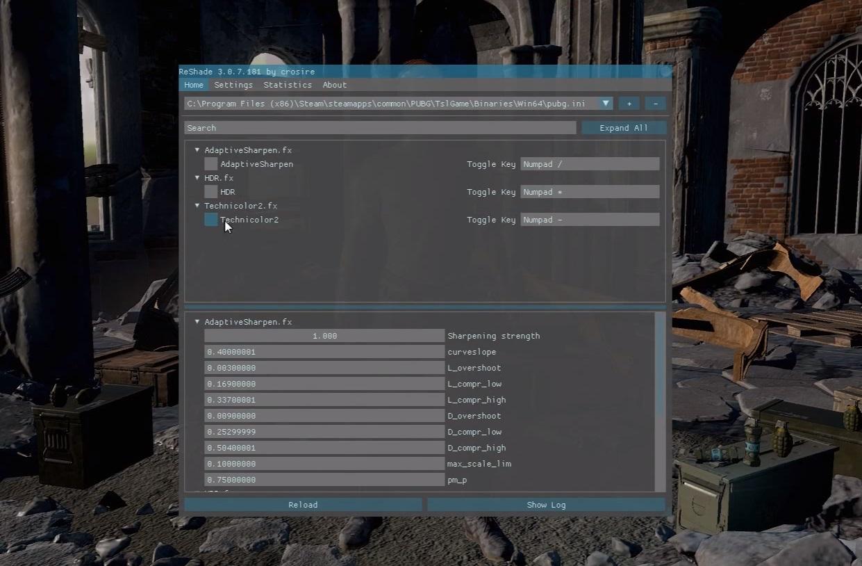 PlayerUnknown's Battlegrounds: ReShade installieren und
