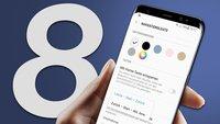 Samsung Galaxy S8: Acht Einstellungen, die du sofort ändern solltest