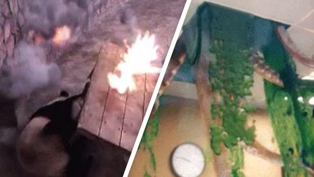 Künstler verwandelt GIFs in apokalyptische Game-Szenen
