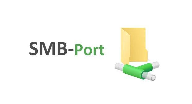 Wie lautet der richtige SMB-Port zum Freigeben?