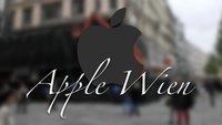 Bilder aus Wien: Erster Apple Store in Österreich ist verhüllt