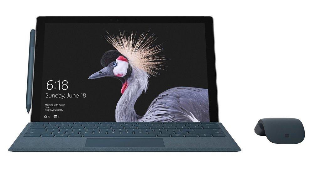 Surface Pro (2017) geleakt: Pressebilder zeigen Surface-Pro-4-Nachfolger