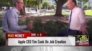 Tim Cook verkündet Investitionsfonds für US-Jobs –und spricht über Apples Zukunft
