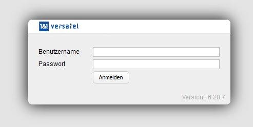 Wenn der Versatel-Login nicht funktioniert, prüft Benutzername und Passwort auf Schreibfehler.
