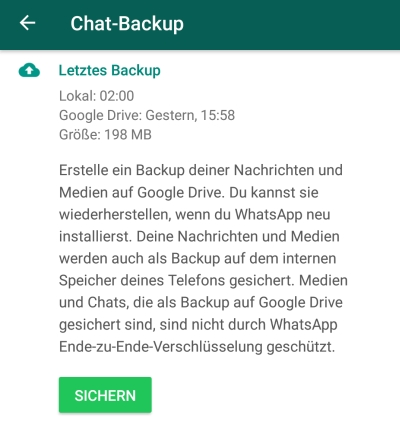 whatsapp iphone übertragen