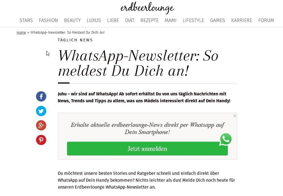 whatsapp-newsletter-anmeldung