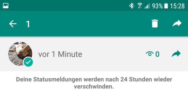 Den Whatsapp Status Löschen Und Deaktivieren
