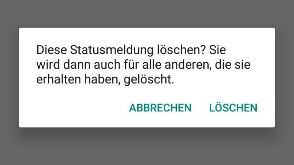 Whatsapp Statusmeldungen Löschen Iphone How To Delete