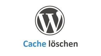 Wordpress: Cache löschen – so geht's