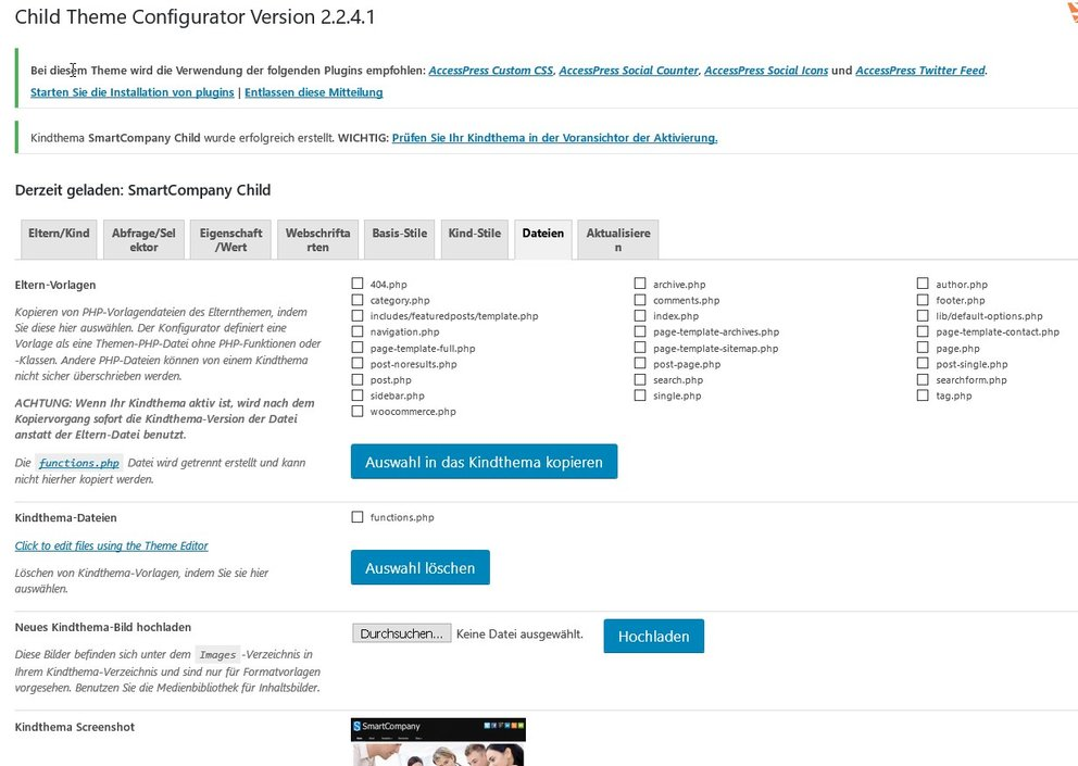 wordpress-child-theme-configurator