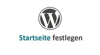 Wordpress: Startseite festlegen – so geht's