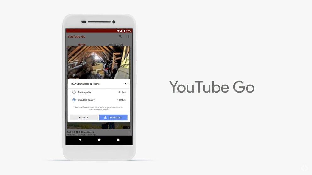 YouTube: Die Go-Version kann Daten vorab speichern und sogar per Peer-to-Peer zwischen Geräten übertragen