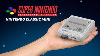 Das Mini-SNES hat ein längeres Kabel als seine Vorgängerkonsole