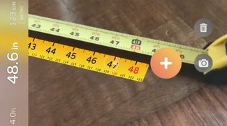 ARKit: Videos zeigen wie das iPhone den Zollstock ersetzen kann