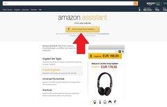 Amazon Assistant installieren...