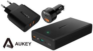Bis zu 32 % Rabatt auf ausgewähltes Quick-Charge-Zubehör von Aukey bei Amazon