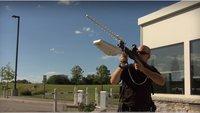 Mit Laserwaffen gegen Drohnen: Gefängnisse rüsten auf