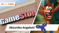 Crash Bandicoot N. Sane Trilogy: GameStop verschenkt Fidget Spinner bei Spiel-Tausch