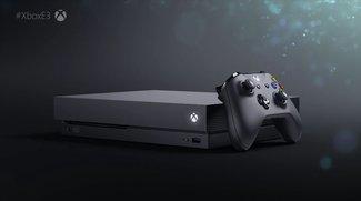 Xbox One X: Microsoft enthüllt den Preis der neuen Power-Konsole