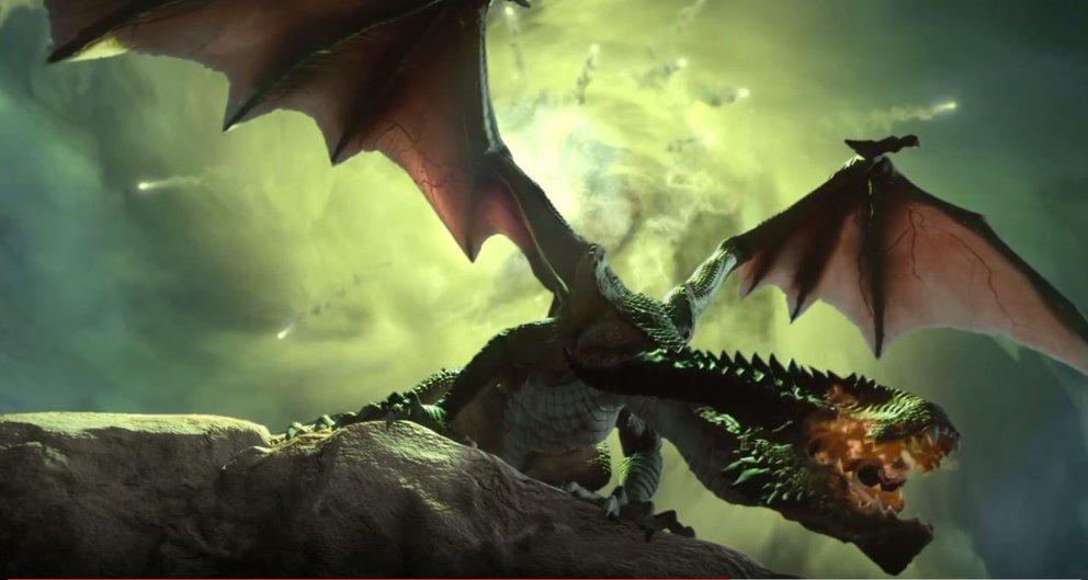 Noch ist kein Bildmaterial für Dragon Age 4 verfügbar. Aber solche Drachen wird es wahrscheinlich auch geben (Bild: Dragon Age 3 - Inquisition).