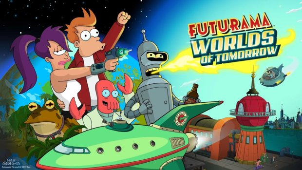 Futurama: Worlds of Tomorrow ab sofort verfügbar