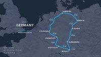 Hyperloop in Deutschland: 1.900 km durch die Röhre