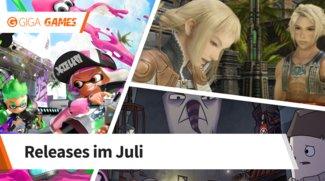Release-Liste für Juli 2017: Diese Spiele erwarten dich