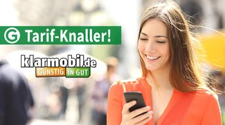 klarmobil Allnet-Flat-Aktion: 5 GB oder 10 GB Datenvolumen im Telekom-Netz ab 16,85 €