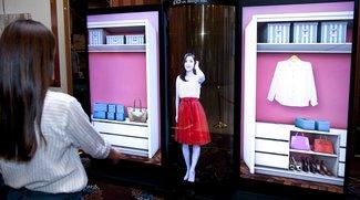 LG zeigt transparentes 77-Zoll-Display zum Aufrollen