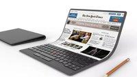 Lenovos Notebook der Zukunft hat ein flexibles Display